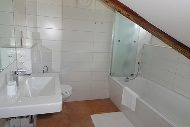 Bathroom holiday apartment 1 Elisabeth apartments Kitzbühel