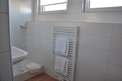 Bathroom holiday apartment 3 Elisabeth apartments