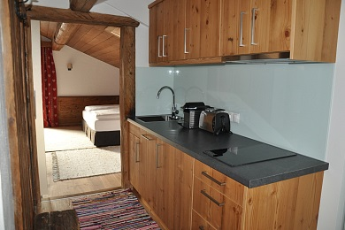 Kitchen area holiday apartment 3 Elisabeth apartments