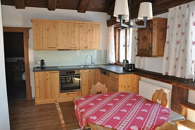 Kitchen holiday apartment 1 Elisabeth apartments