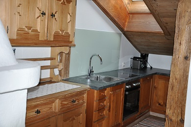 Kitchen holiday apartment 2 Elisabeth apartments