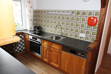 Kitchenette in holiday apartment 5
