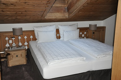 Bedroom holiday apartment 1 Elisabeth apartments Kitzbühel