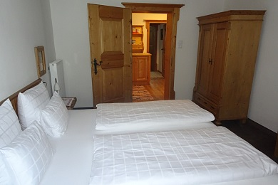 Wonderful bedroom 2 with balcony Holiday apartment 5 Elisabeth apartments